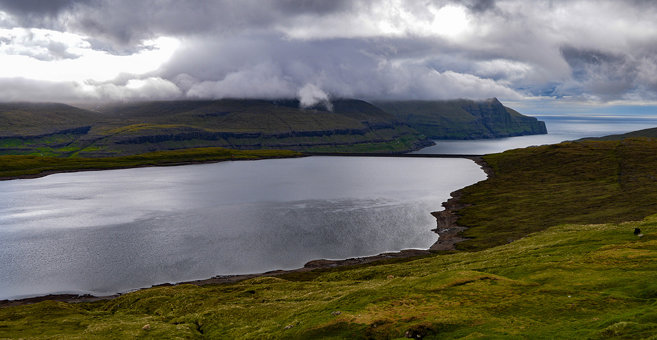 Eide - Lake Eiði