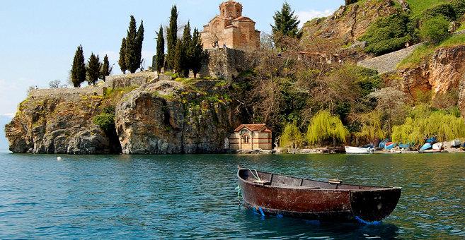 Ohrid - Ohridské jezero