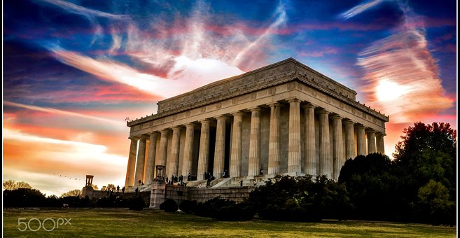Washington - Lincoln Memorial