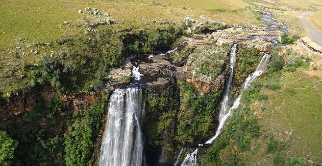Blydebos - Lisbon Falls (waterfall)