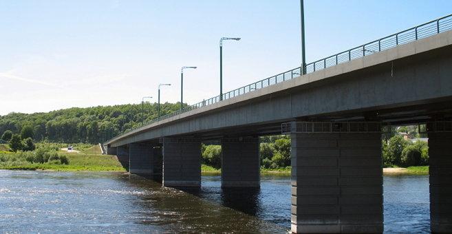 Aleksota - M. K. Čiurlionis Bridge