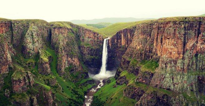 Lekhoa - Maletsunyane Falls