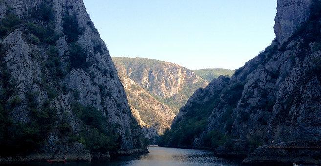 Dolna Matka - Језеро Матка