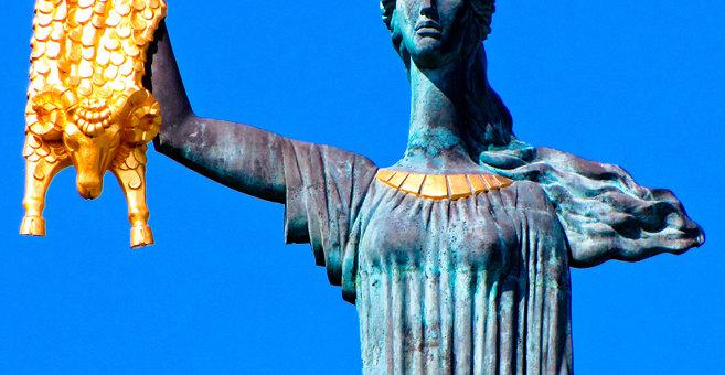 バトゥミ - Medea statue