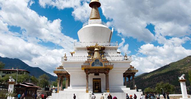 Thimbu - Memorial Chorten, Thimphu