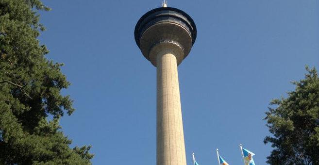 Tampere - Näsinneula tower