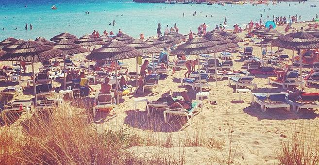 איה נאפה - Nissi beach