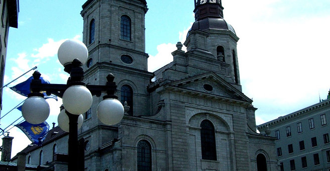 Quebec - Notre-Dame Basilica-Cathedral (Quebec City)