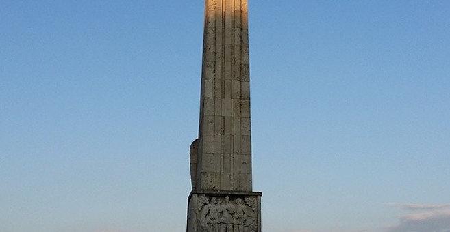 Alba Iulia - Obeliscul lui Horea, Cloșca și Crișan din Alba Iulia