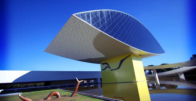 Curitiba - Oscar Niemeyer Museum
