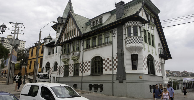 Valparaíso - Palacio Baburizza