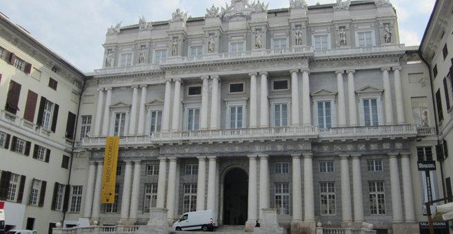 Genua - Pałac dożów Genui