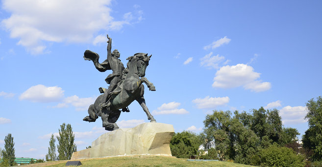 Tiraspol - Памятник Суворову (Тирасполь)
