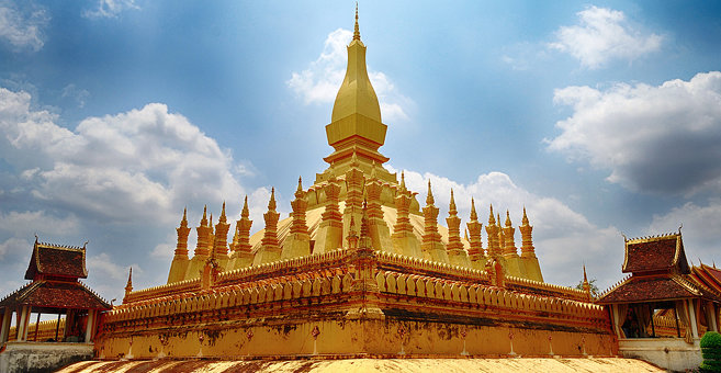 Vientian - Pha That Luang