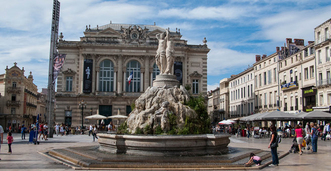 Montpellier - Place de la Comédie