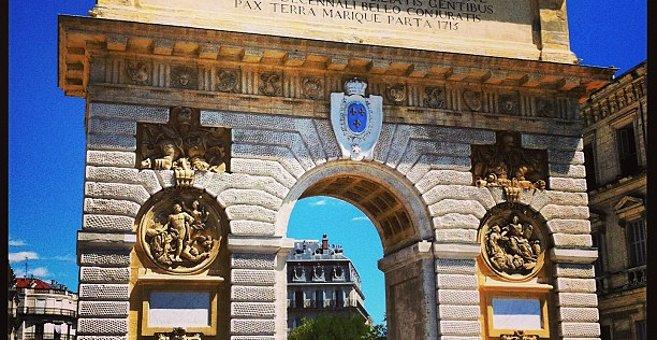 Montpellier - Porte du Peyrou