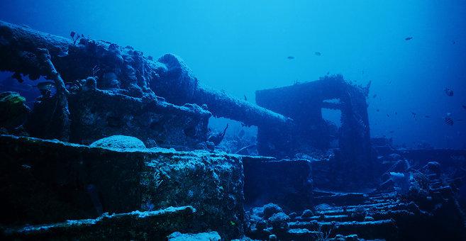 Maya Cove - RMS Rhone