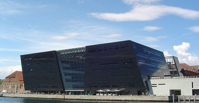 Kopenhaagen - Royal Danish Library