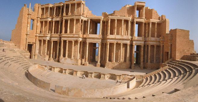 Sabratha - Sabratha amphitheatre