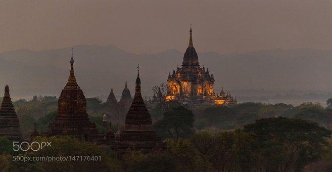 Bagan - Pagode Shwesandaw (Bagan)