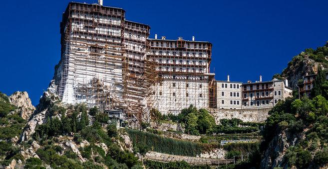 Dháfni - Simonopetra monastery