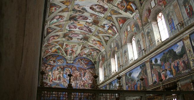 Vatican - Sikstinska kapela