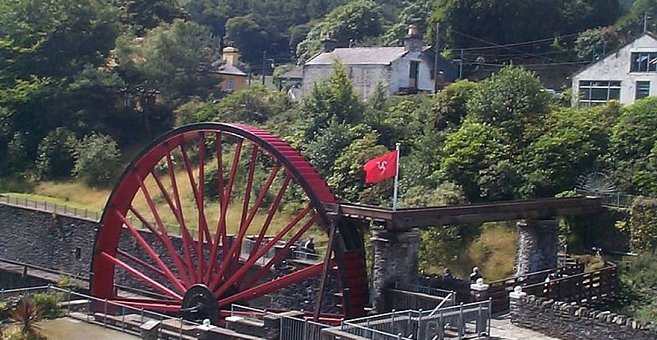 Laxey - Snaefell Wheel