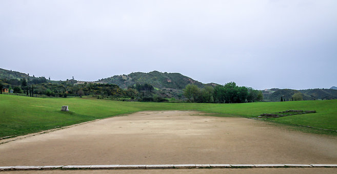 Koskiná - Stadium at Olympia