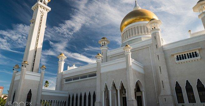 Bandar Seri Begavanas - Sultono Omaro Ali Saifudino mečetė