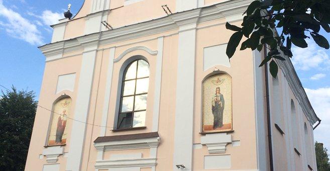 ピンスク - Свята-Варварынскі сабор, Пінск