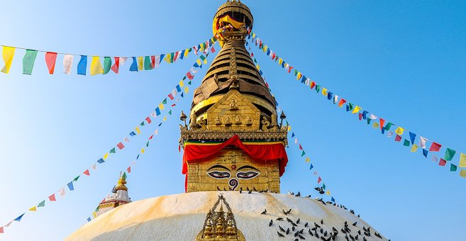 Katmandu - Swayambhunath