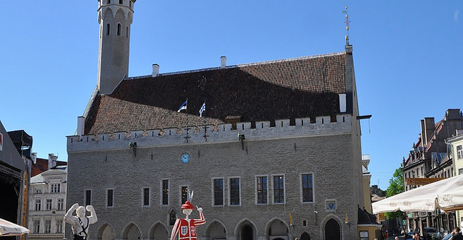 Tallinn - Tallinner Rathaus