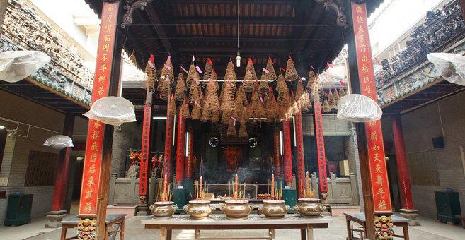Hô Chi Minh Ville - Temple de Bà Thiên Hậu