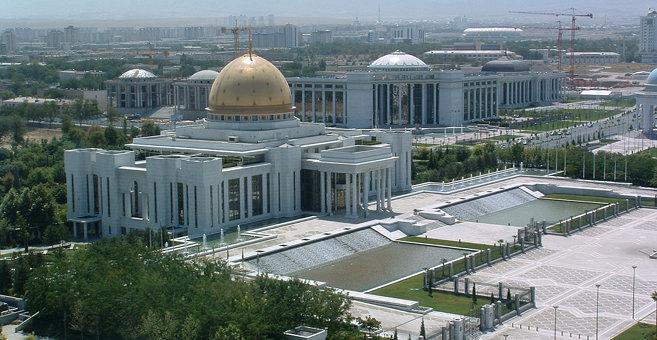 Ashgabat - Türkmenbaşy Palace