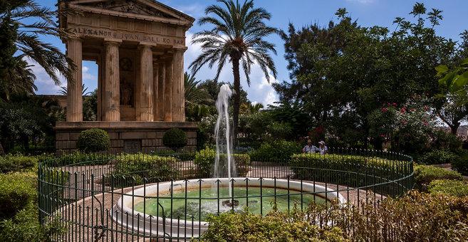 Floriana - Upper Barrakka Gardens