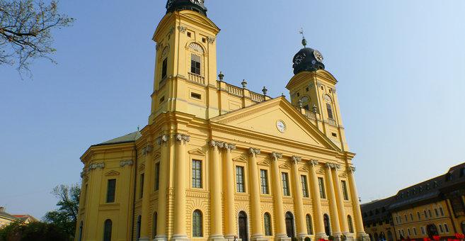 Debrecen - Вялікая пратэстанцкая царква Дэбрэцэна
