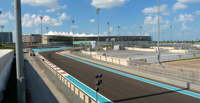 Al Qurayyah - Yas Marina Circuit