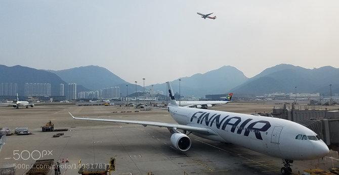 Lapangan Terbang Antarabangsa Hong Kong Di Hong Kong