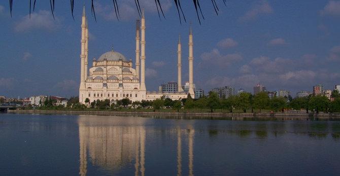 نتيجة بحث الصور عن المسجد المركزي سابانجي في أضنة