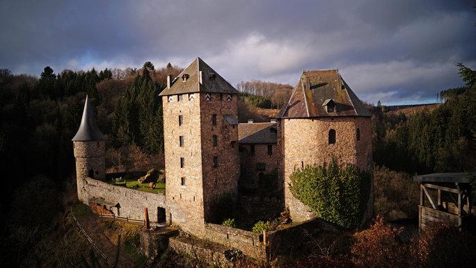 Château Reinhardstein (janvier 2016)