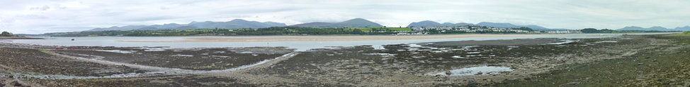 Menai Straits Panorama from the Mermaid