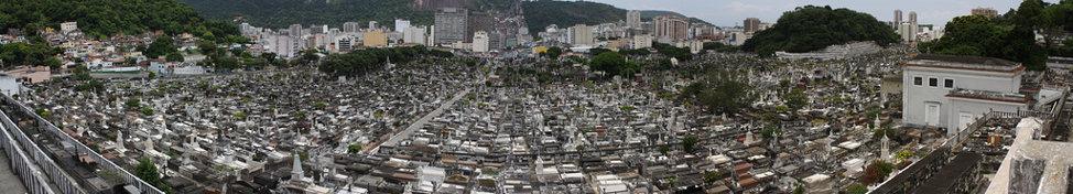 Cemitério São João Batista  Panorama