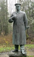 Grutas park and museum - Stalin sculpture, Druskininkai district