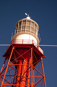The old Cape Jaffa light