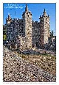 Santa Maria da Feira Castle - Keep / Castelo de Santa Maria da Feira - Torre de Menagem