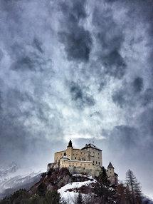 Schloss Tarasp, Engadin, Schweiz