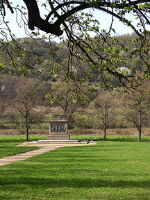 2011-04-10 Czech History - Přemysl the Ploughman Memorial in Stadice
