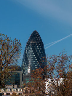 30, St. Mary's Axe Building