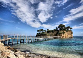 Agios Sostis island, Zakynthos, Greece