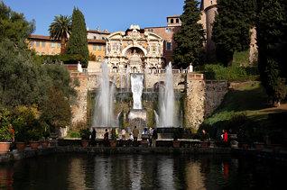 Villa d'Este, Tivoli, 2007